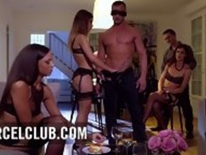 High Society Means High-end Hoes - DP Orgy In Paris - HD